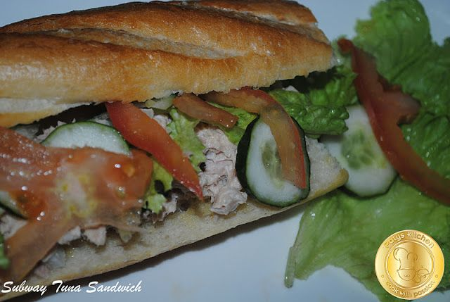 PATY'SKITCHEN: LIGHT AND EASY SATURDAY WITH SUBWAY TUNA SANDWICH ...