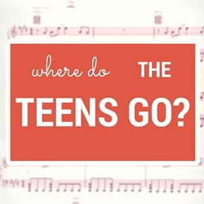 Where do the teens go? (saxophone solo) Where do the teens go? I've long had a belief that service and programs in the public library, especially Youth Services (if you define Youth Services as 0-1...