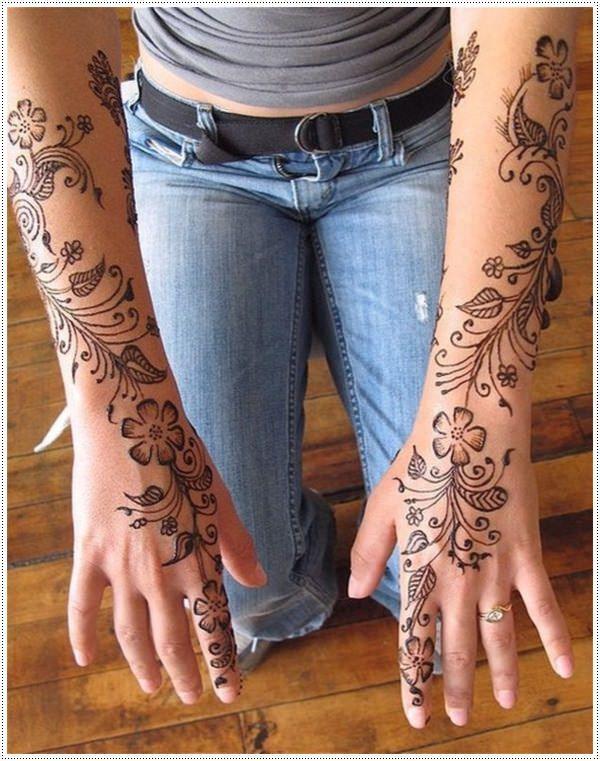 75 Henna Tattoos That Will Get Your Creative Juices Flowing Floral Henna Designs Henna Tattoo Designs Henna Designs