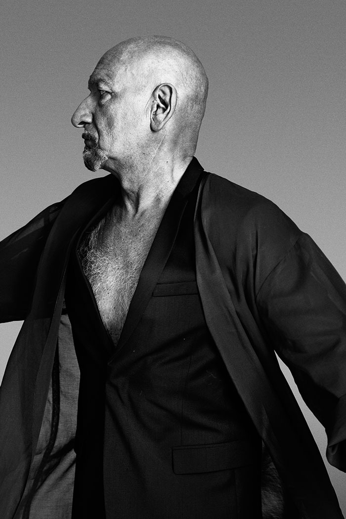 Sir Ben kingsley, will entertain me. With no television or movies this guy will be able to perform anything I want, or else!