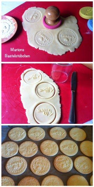 Marions Bastelstübchen: Stempel-Keks-Rezept mit Geling-Garantie