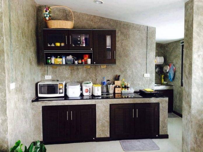 ไอเด ย การออกแบบห องคร วแบบป นเปล อย สไตล คร วไทย Ihome108 Kitchen Design House Design Studio Kitchen