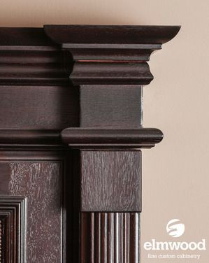 *Moulding Monday* If you can't have a wide moulding profile, try something like this. EK1 and EK115 on top of a EK336 stacker with EK30 at the bottom....