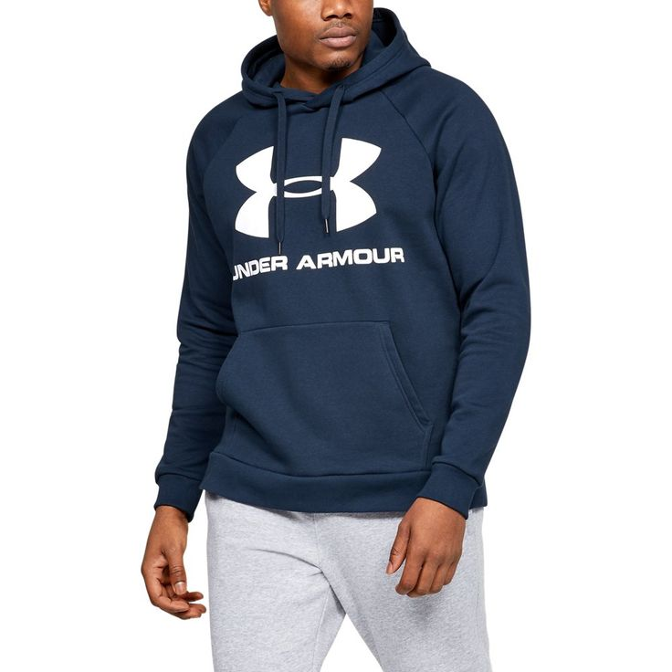 Under Armour Men's UA Rival Fleece Logo Hoodie