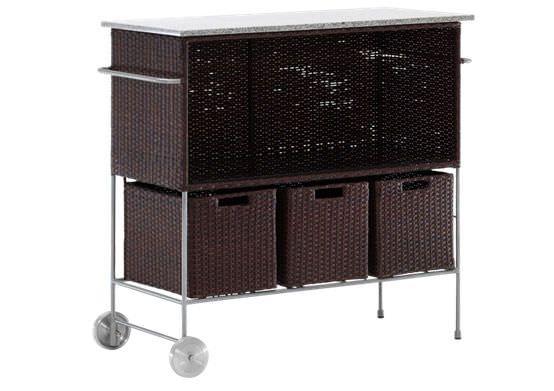 Bar cart para terraza de sikadesign carro terraza - Accesorios terraza ...