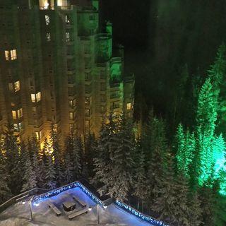 Rimrock hotel. Banff Canada