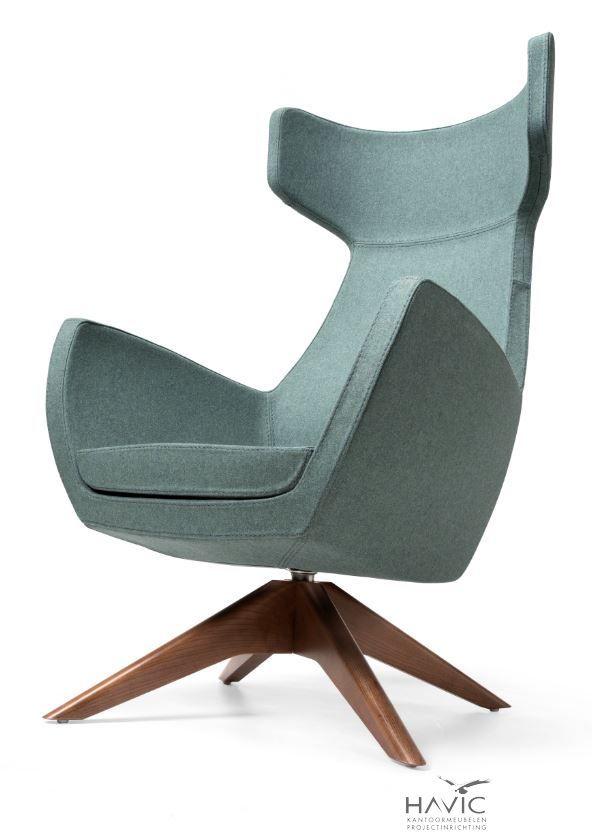 Houten Design Fauteuil.Fauteuil Stig Houten Spinpoot In 2020 Fauteuil