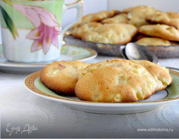 Мягкое, нежное печенье с яблочным вкусом. Остается мягким даже на следующий день.....если, конечно, доживет. Яблоки выбираем сочные и ароматные. Чем больше яблок, тем вкуснее.