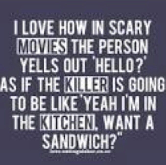 So true! And like when I'm in the grocery store and see somebody and they're like what are you doing here?!