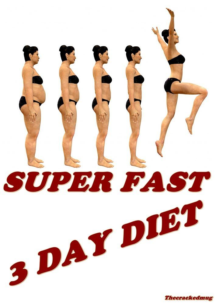 Lose 7 Pounds With This Super Fast 3 Day Diet