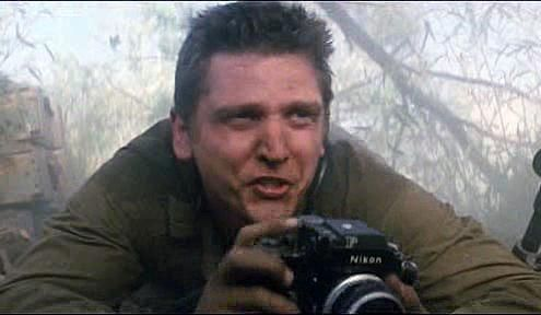 Barry Pepper as Joe Galloway, We Were Soldiers (2002)