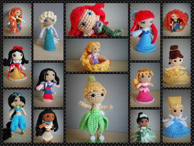 Amigurumi Disney Princess : 40 best images about Disney Amigurumi - Completed on ...
