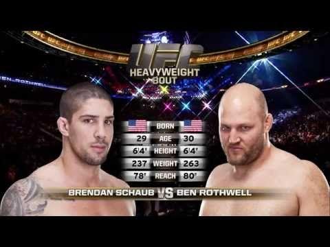 Ben Rothwell vs. Brendan Schaub Full Fight Video - http://www.lowkickmma.com/News/ben-rothwell-vs-brendan-schaub-full-fight-video/