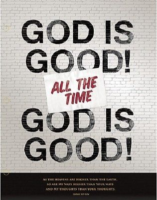 """ ' God is good all the time' ; this is  one of the best messages that this movie gave.  Good to remember this, in hard times, good times, in horrible situations, anytime , anywhere, please remember that 'God is good all the time' ; if you are experiencing bad, or horrible, this is not from God"".  ~ perrysbook."
