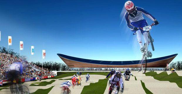 2012 London Olympics velodrome - Hopkins - London