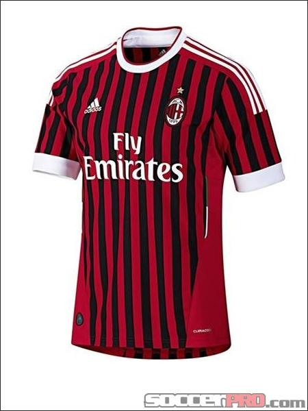 adidas Youth AC Milan Home Jersey 2011...$43.99