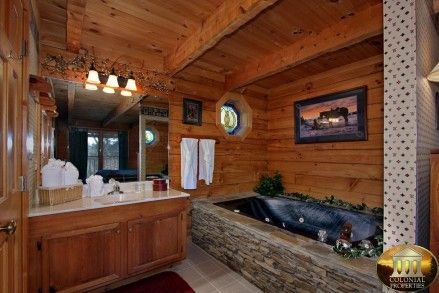 "Smoky Mountain Cabins for Rent in Gatlinburg and Pigeon Forge TN ""Giddy Up"""
