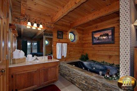 Giddy Up Cabin in Sevierville, TN. Owned by a dear friend. Wonderful!