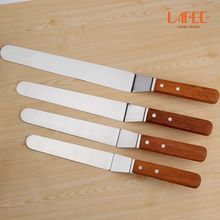 4pcs free shipping Cake Decorating Tool Cake Smoother spatula for confectionery substances smooth flexible blade(China)