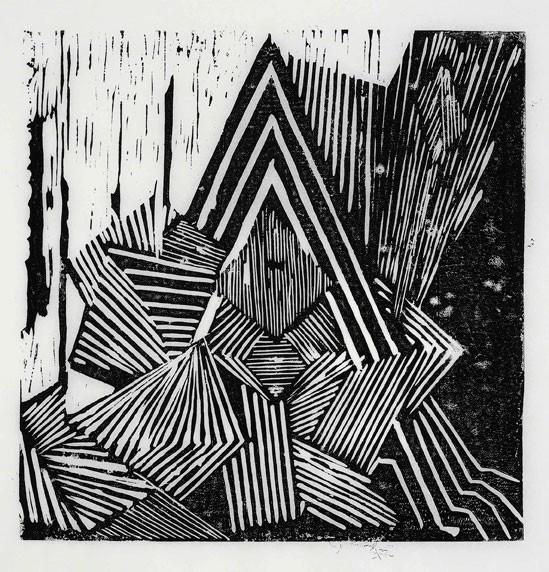 Caroline Achaintre - Spear Spark, 2010