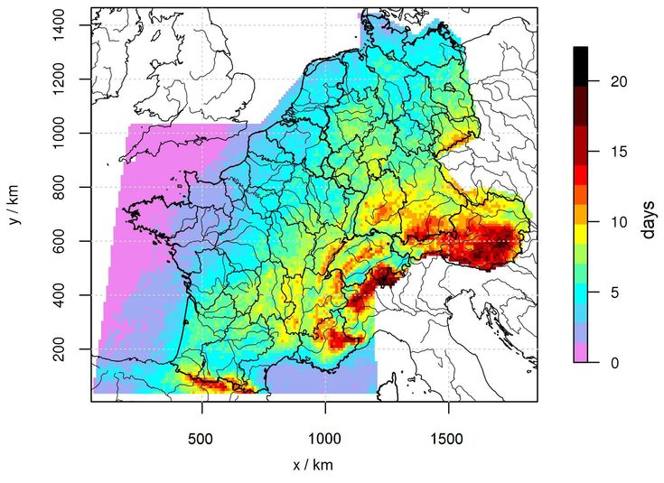 Those who are afraid of thunderstorms should move to Kiel, whereas those who do not feel threatened by thunder and lightning should settle in Garmisch-Partenkirchen, because average thunderstorm activity is lowest in the city in Northern Germany and highest in the city in Bavaria. Scientists of Karlsruhe Institute of Technology (KIT) evaluated data on thunderstorm occurrences and published their findings in the Natural Hazards and Earth System Sciences journal.