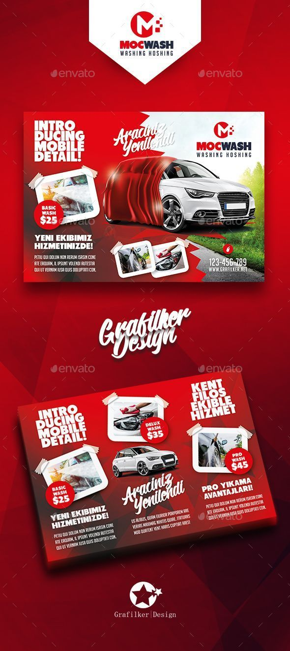 Car Flyer Template Car Wash And Auto Detailing Flyer Corporate