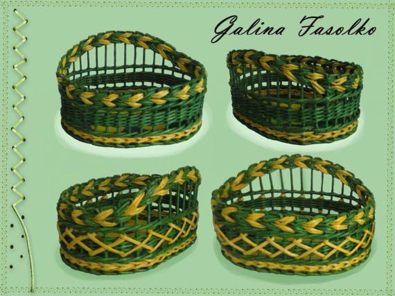 Small wicker basket/Mini basket/Woven basket/Original