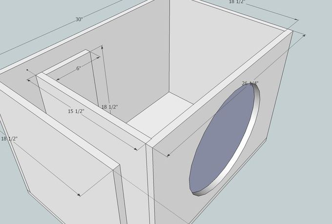 12 Inch Subwoofer Box Design Pictures To Pin On Pinterest
