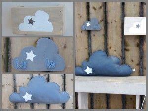 Afbeeldingsresultaat voor wolkjes babykamer maken