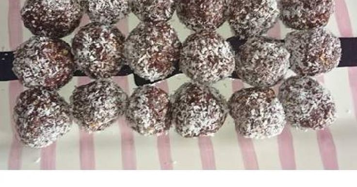 Healthy cacao bliss balls