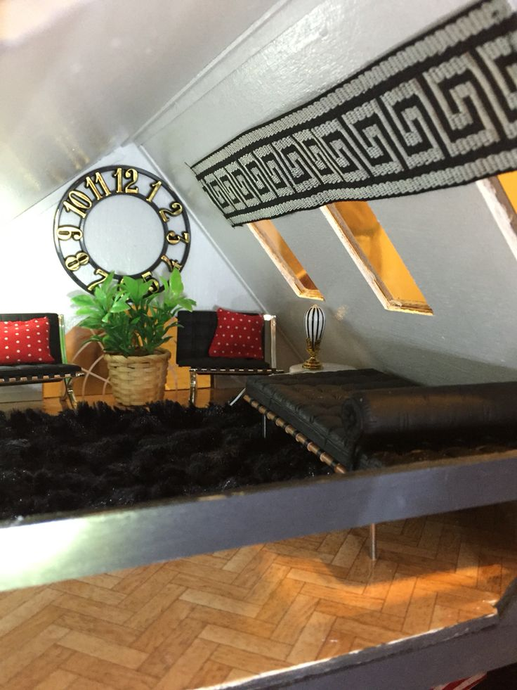 The Brookwood Dollhouse   Third Floor Loft
