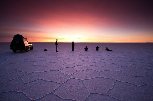 Salar de Uyuni in Bolivia - One of the Strangest Places in the World ~ Apex Planet