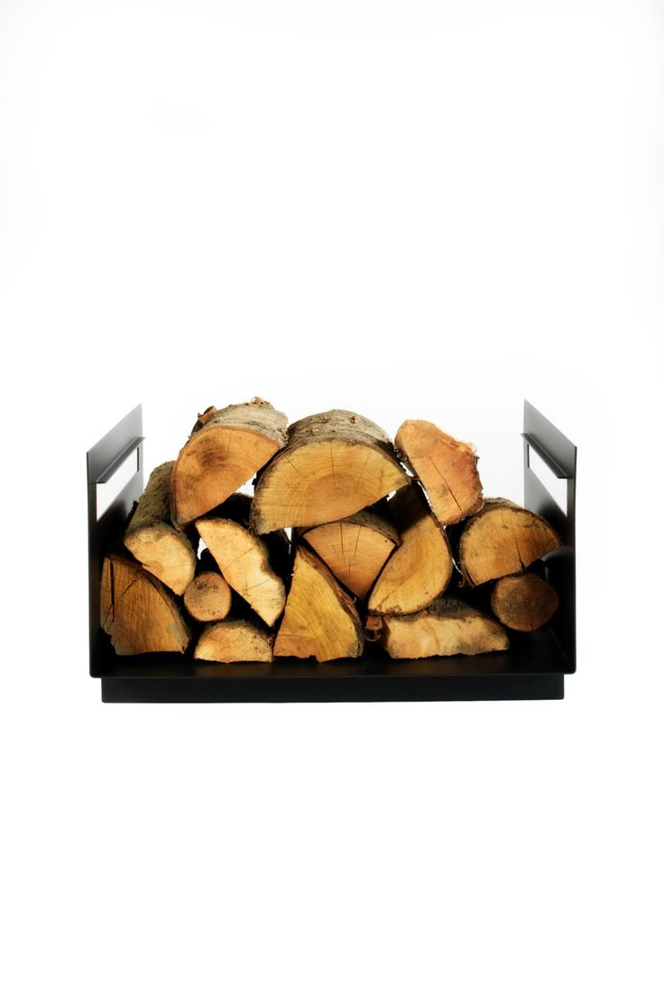 Metal Firewood Holder by KureliDesign on Etsy