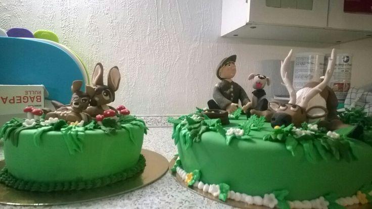 Jæger kage
