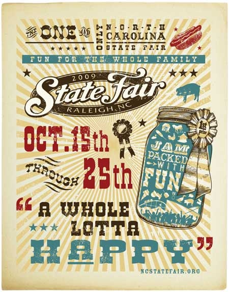 2009 NC State Fair Theme - A Whole Lotta Happy | New Raleigh