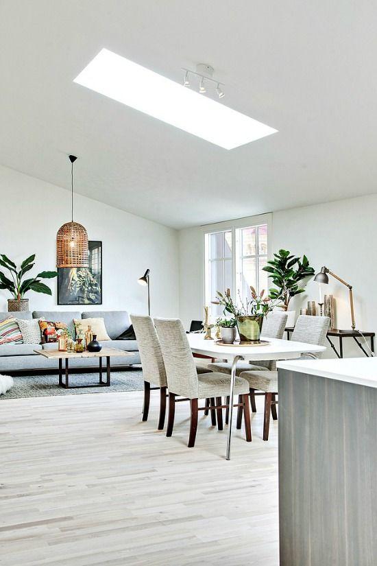 Perfect Scandinavian style living room