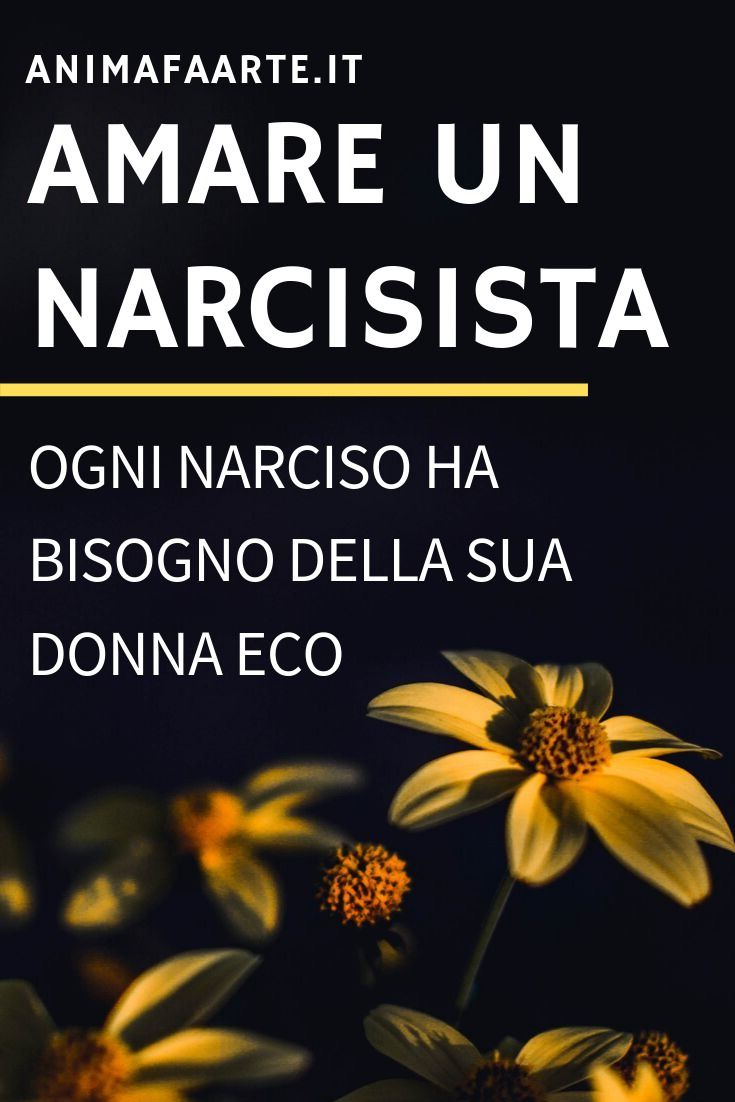 Evitare di uscire con un narcisista