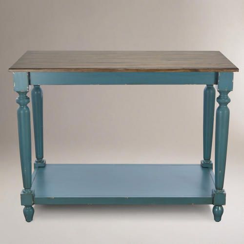 One of my favorite discoveries at WorldMarket.com: Camille Kitchen Work Table