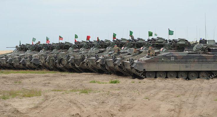 Ρωσία: Σύντομα 15 ΝΑΤΟϊκές χώρες θα έχουν στρατεύματα στα ρωσικά σύνορα