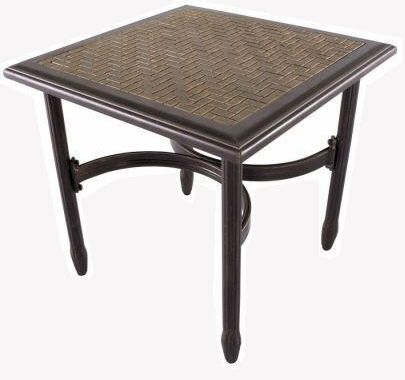 Tile Top Patio Table, Replacing Patio Table Top With Mosaic. Martha Stewart  Palamos 20
