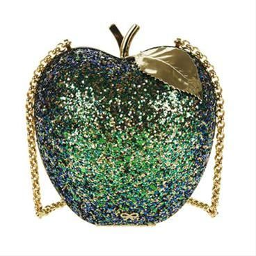 ANYA HINDMARCH  Fruit Clutch Apple - Green