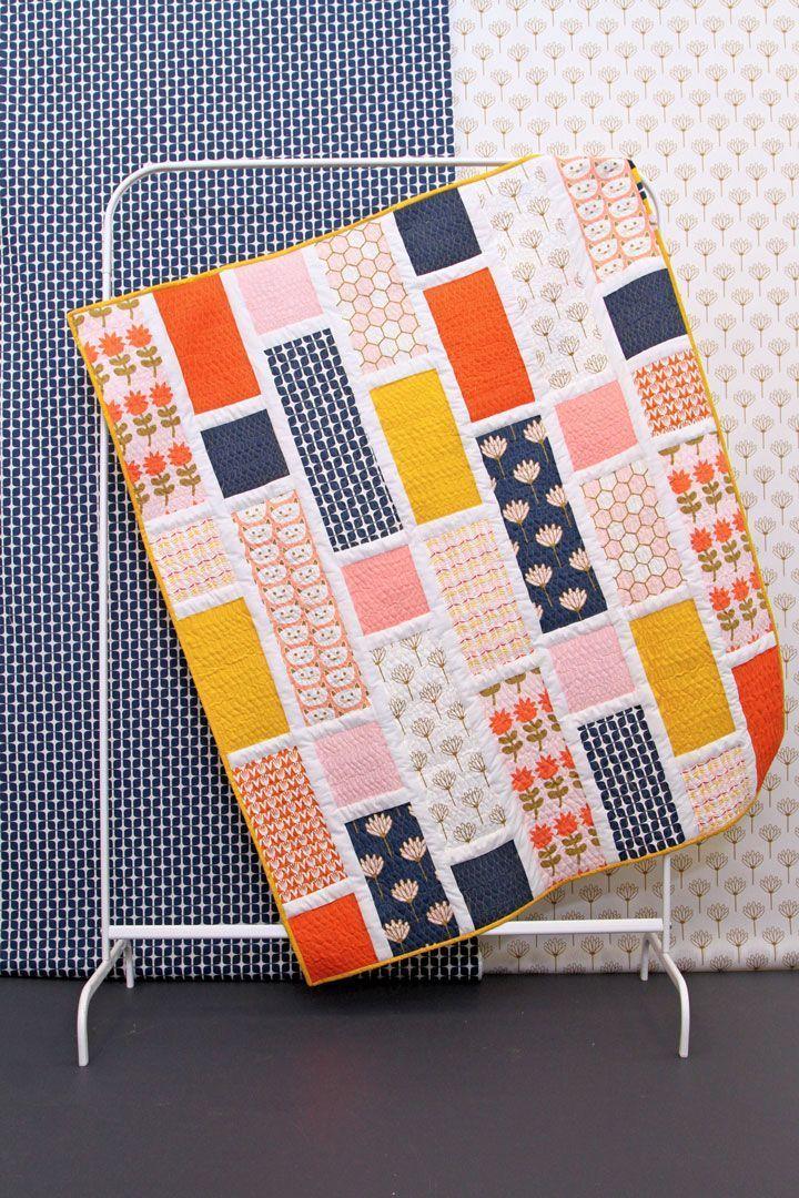 Blush Free Quilt Pattern