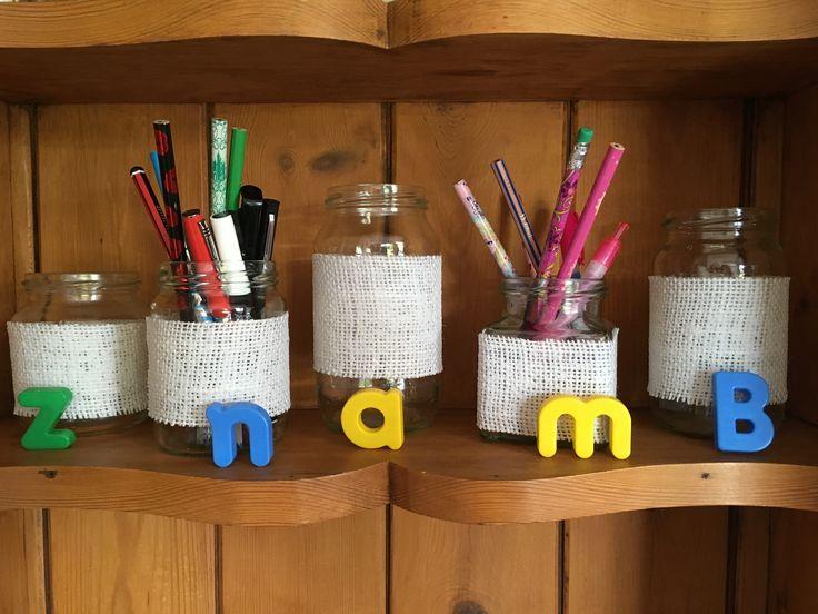 Burlap jars for your own decoration!  https://www.facebook.com/roseybuddles
