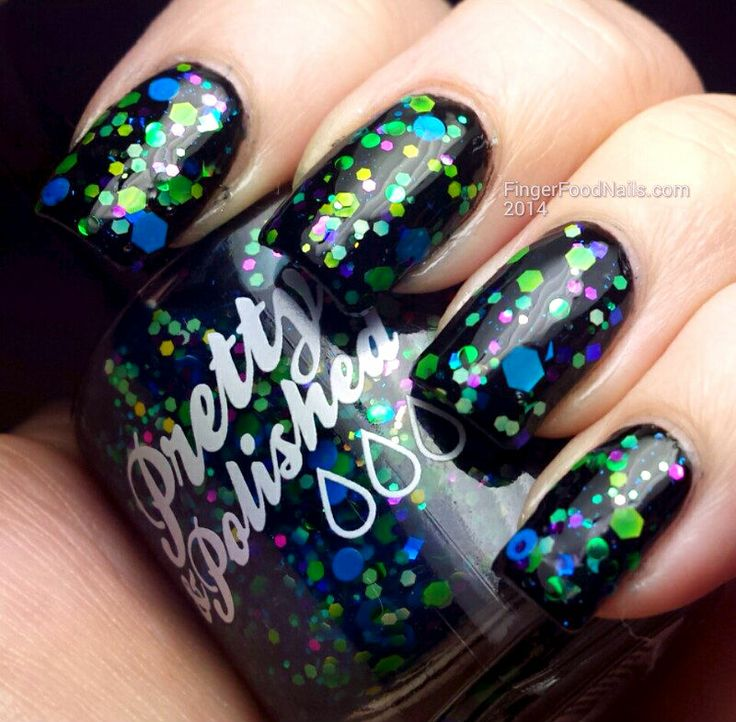 Pretty and Polished - Da' Nile Isn't Just A River www.fingerfoodnails.com