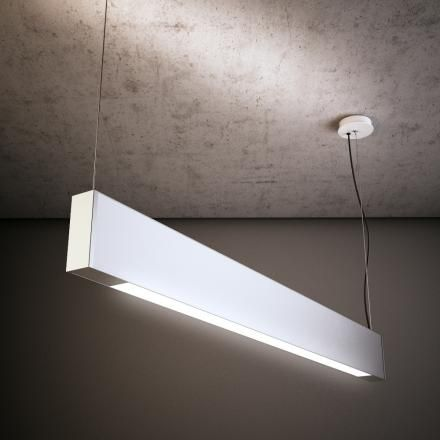 L4/L5 - LAD Darkon Slim H LED direct/indirect C/W opal V diffuser and track sections. Located in the Information Centre/ Histroy Room, Museum and BOQ tenancy.