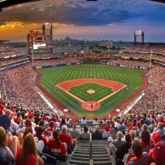 """This is a picture of the Phillies stadium. I will be using a similar picture in my """" I believe"""" speech to show an amount of people. I found this on Pinterest."""