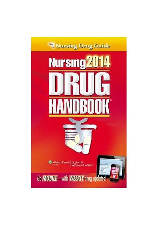 Nursing Drug Handbook 2014 by Lippincott - Scrubs and Beyond