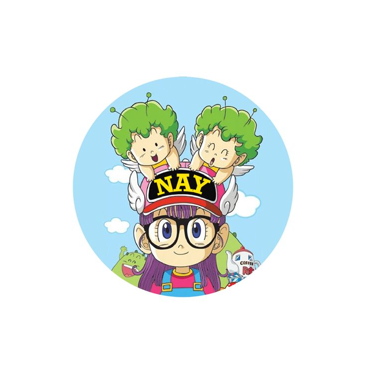 My favourite character <3 Norimaki Arale  #DrSlump