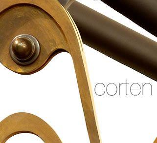 Trąbczyński: materiały / Materials Corten