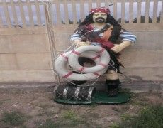 Pirate Sailor Statue